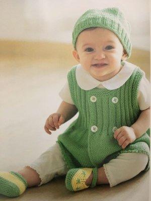 画像1: O-15  グリーンのベスト&帽子