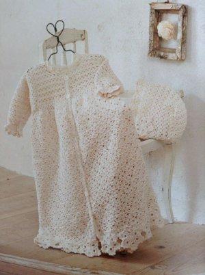 画像1: K-1 オーガニックコットンのベビードレス