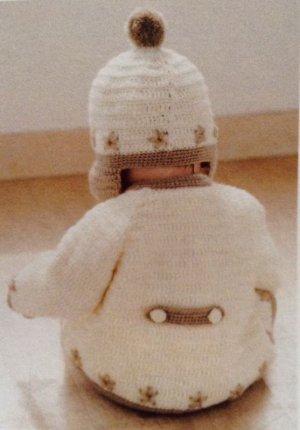 画像2: C-10 ラグランスリーブのカーディガンと帽子