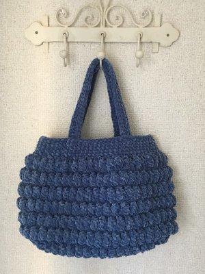 画像2: ファーつきモール糸のバッグ