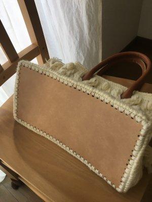 画像2: アラン模様のトートバッグ