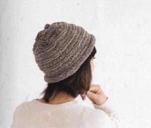 画像1: Y-22 ガーター編みの帽子